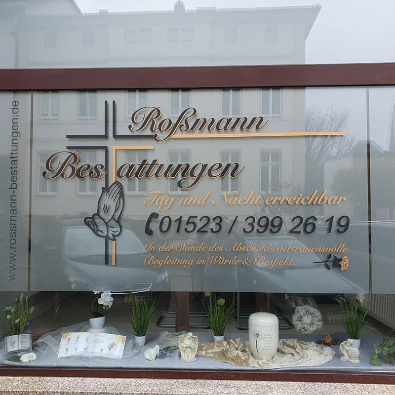 Gera Bestattungsunternehmen Rossmann